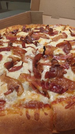 Rockland, Canada: Real slices of bacon