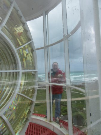 Cape Agulhas, Sudáfrica: Inside the top of the lighthouse