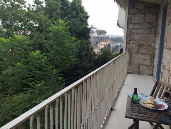 Casa dos Guindais: View of the convent across the river from the Douro room's balcony
