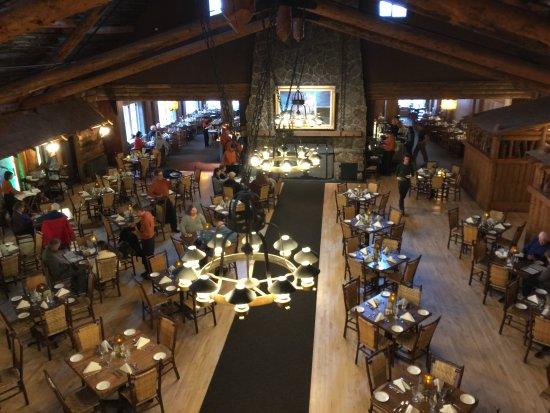 Old Faithful Inn Dining Room: OFI Dining Room
