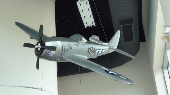 Laurel, MS: Republic P-47 Thunderbolt...replica of the actual plane flown by Capt. Ed Stevens
