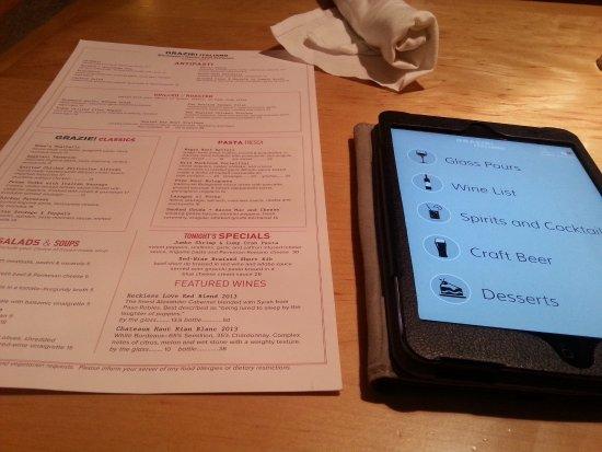 Bloomington, IN: menus