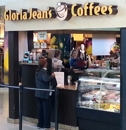 Norridge, อิลลินอยส์: Counter for Gloria Jean's Coffees