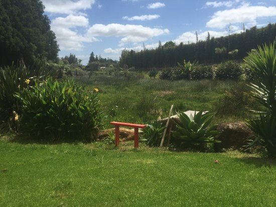 Kerikeri, New Zealand: Looking out over the Marshlands