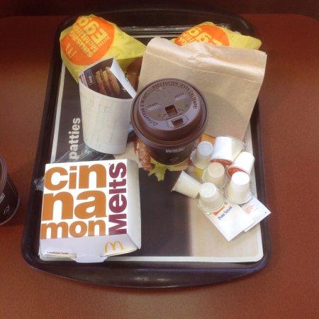Gila Bend, AZ: Our breakfast