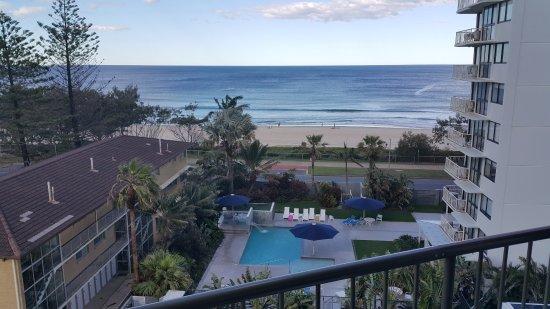 Ocean Royale: Beach View from 6th Floor Balcony