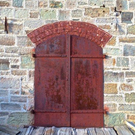 Challis, ID: Jail Door
