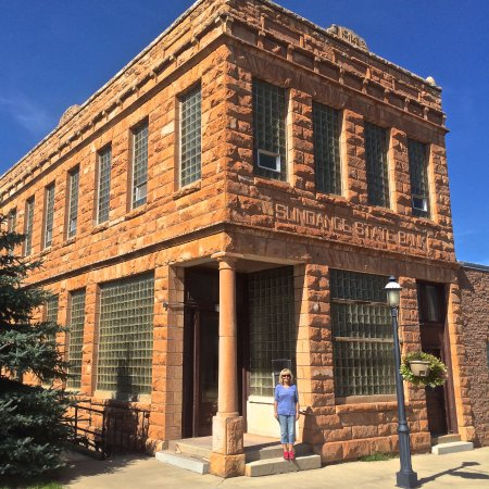 Sundance, WY: Old State Bank