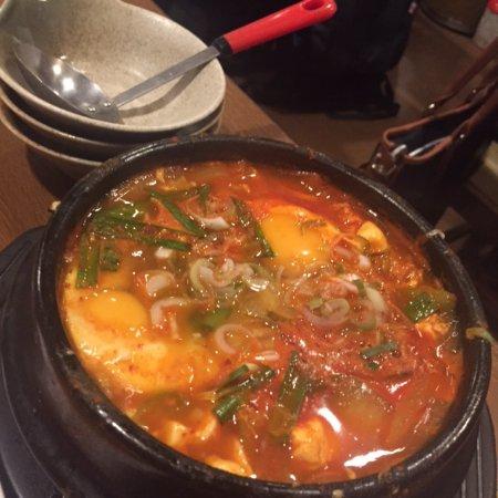 Togarashi Shinagawa ten: チゲなべ