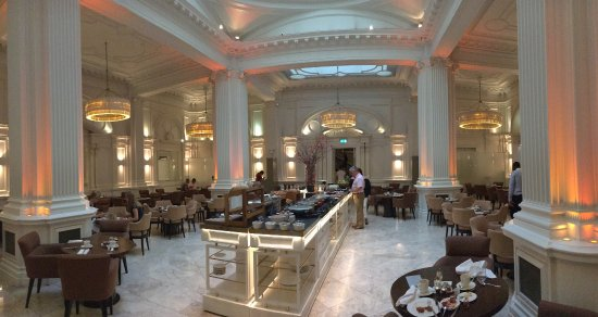 Breakfast Buffet At 1901 Picture Of Andaz London Liverpool Street