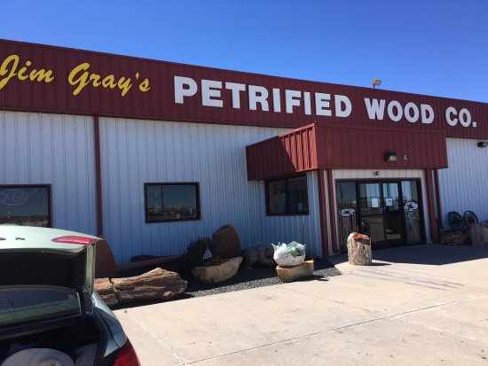 ‪Jim Gray's Petrified Wood Co.‬