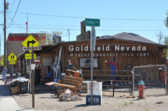 Goldfield, NV: Das grösste Goldcamp der Welt