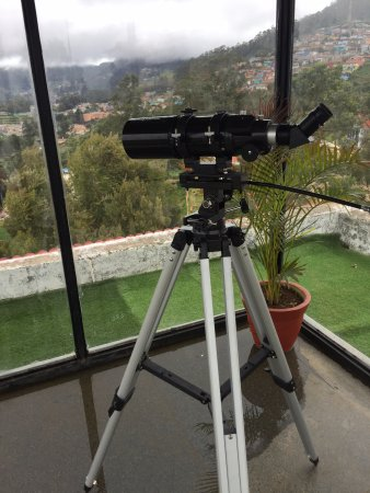 Ooty - Elk Hill, A Sterling Holidays Resort: Telescope within the hotel premises