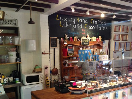 Grasmere Chocolate Cottage : Watch some of the chocolates being 'crafted' and try a sample before purchasing.