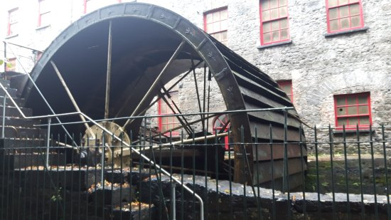 Mill wheel at Old Midleton Distillery