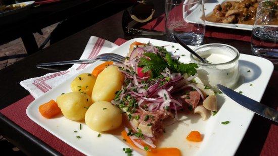 Restaurant Hassenforder: tete de veau