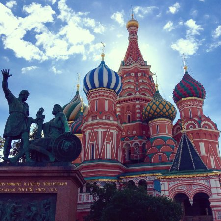 Open Moscow! - Tours: St. Basils Cathedral Moscow