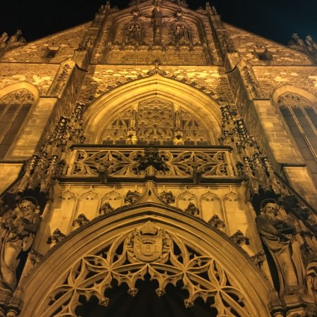 Brno, Czech Republic: Cathedral of St. Peter and St. Paul