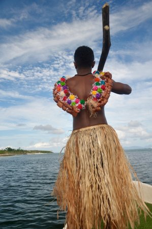 Yasawa Islands, Fiji: Viwa warrior