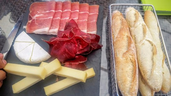 Chexbres, Suíça: appetizers