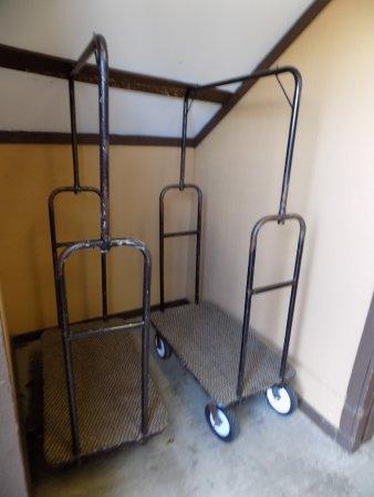 Long Beach, WA: Luggage Carts