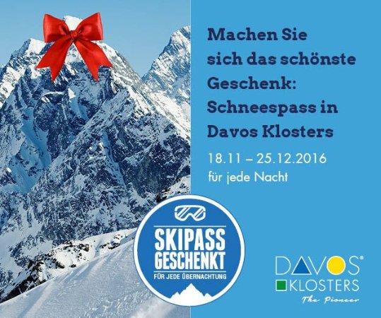 Naturfreundehaus Davos-Clavadel: Skipassgeschenkt