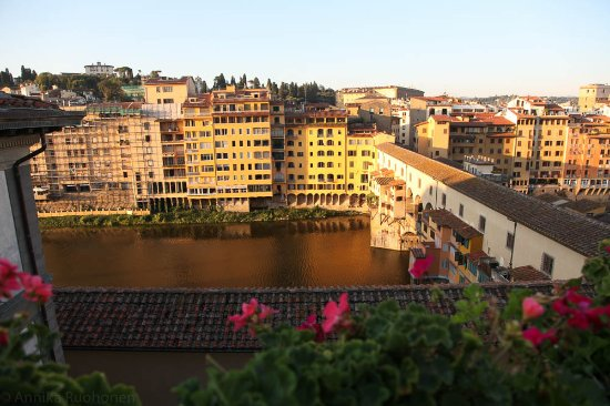 Hotel Hermitage: View from the roof terrace