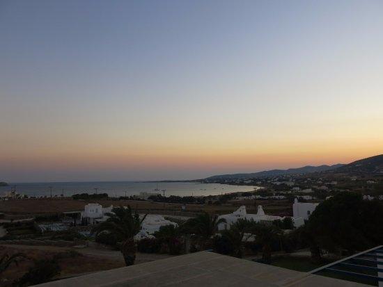 Nea Chryssi Akti, Grécia: view from balcony
