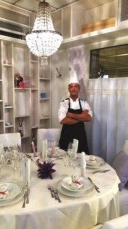 Falciano, San Marino: Chef Dario De Pompa al Triò Restaurant