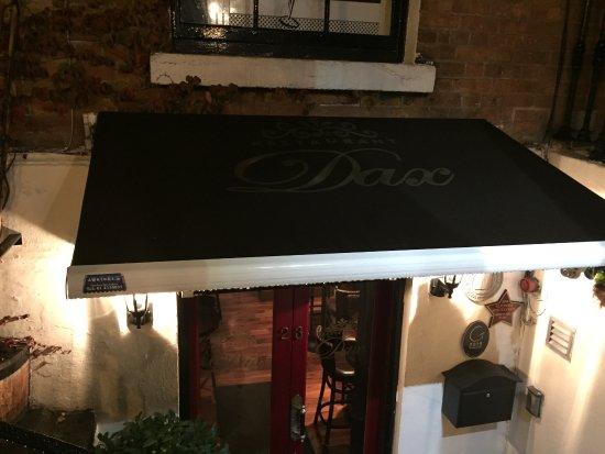 Dax Restaurant: downstairs