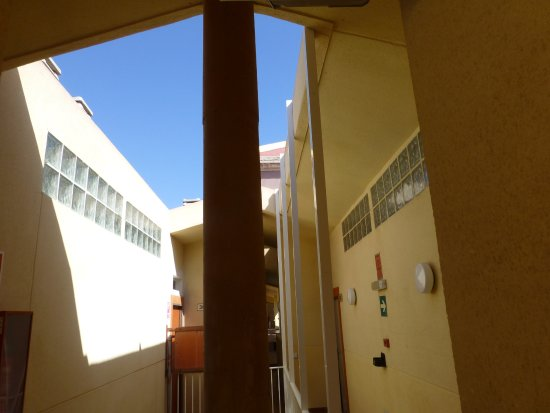 Compostela Beach Golf Club: Square lights to the loft appartments