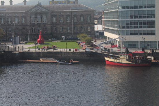 Titanic Boat Tours: On the Lagan.