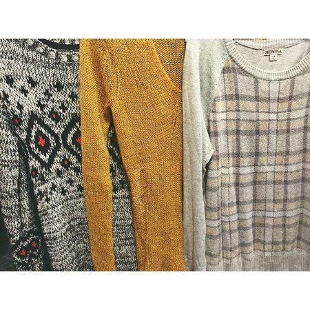 Lindstrom, MN: It's sweater weather and we are well stocked at RW