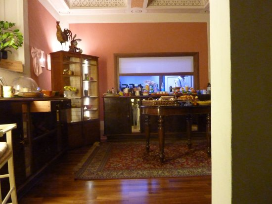 Albergo San Martino: Breakfast Room