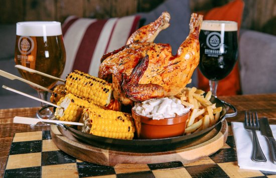 Cheshire, UK: Beer Can Chicken