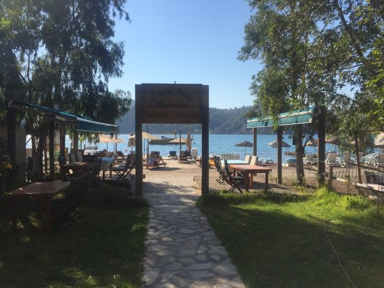 Orhaniye, Turkey: Simple and perfect lunch after a weeks sailing