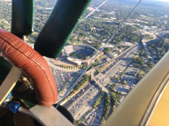 Biplane Rides Over Atlanta