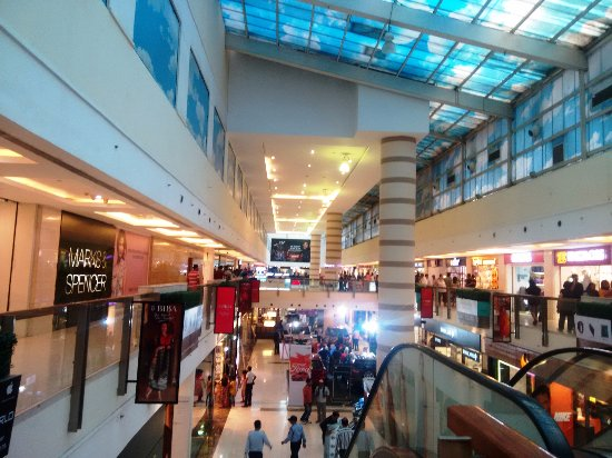 Inside Dlf Place Mall Picture Of Dlf Place Saket New Delhi