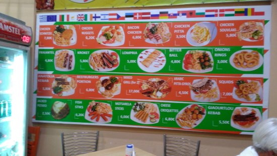 menu sample note cheap prices picture of cretan family