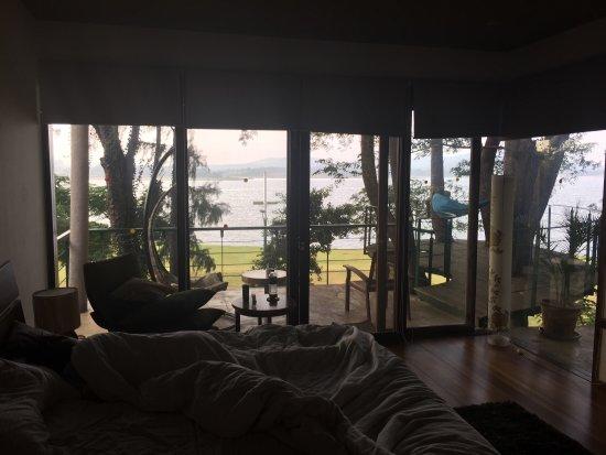 Waking up in the Tree deck room @Waterwoods lodge Kabini