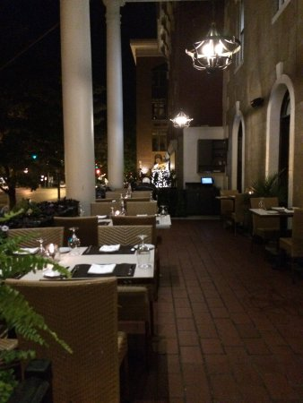 beautiful outdoor patio picture of salt char saratoga springs