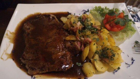 Mieders, Austria: manzo e patate arrosto, che sapore!