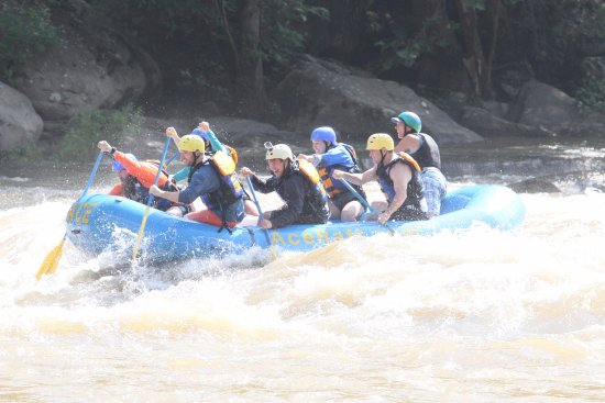 Oak Hill, WV: Rafting on the lower Gauley