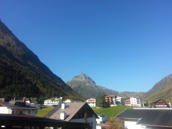 Aussicht Vom Balkon Bild Von Appartements St Gerold Galtur