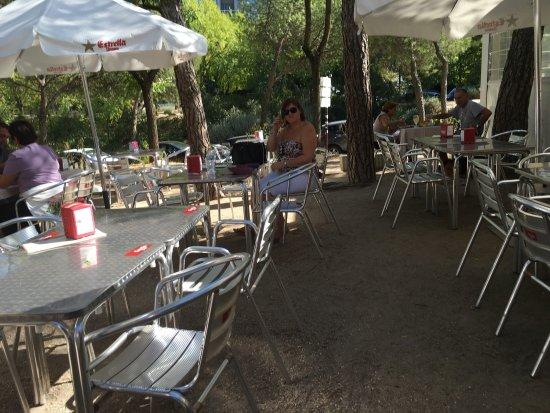 Terraza El Parque Felix Madrid Moncloa Aravaca Menu