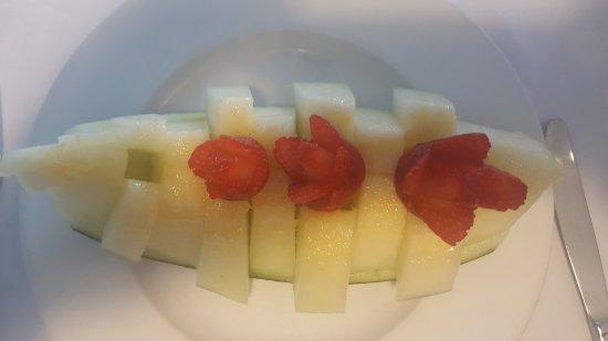 Restaurante Arroceria Puerta de Atocha: Melon con Fresón
