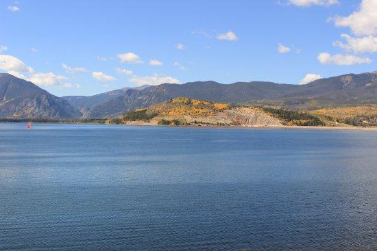 Dillon Reservoir: Large lake