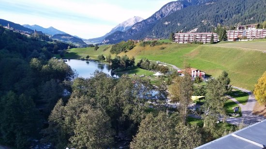 Savognin, Switzerland: View from the room