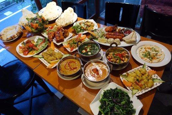 photo various indian food