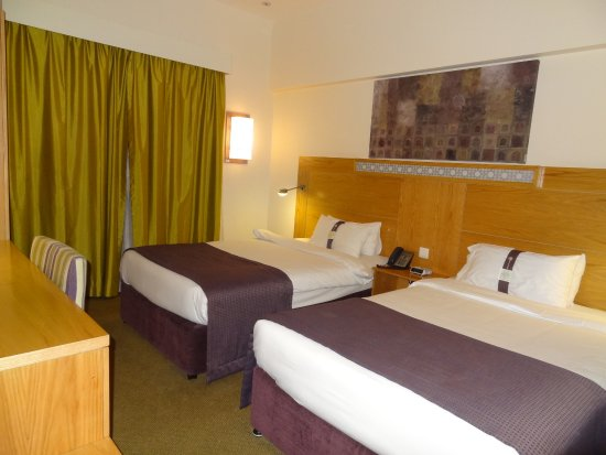 Holiday Inn Express Dubai Airport: la chambre